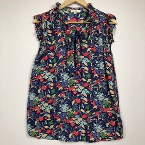 Anthropologie Porridge floral top
